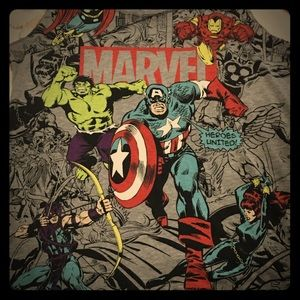 Marvel Avengers Comic Tank Top
